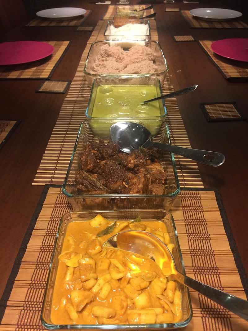 Curry Banquet Dinner
