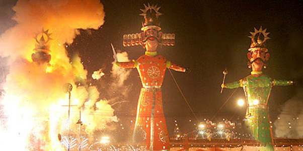 Dussehra - A major Hindu festival