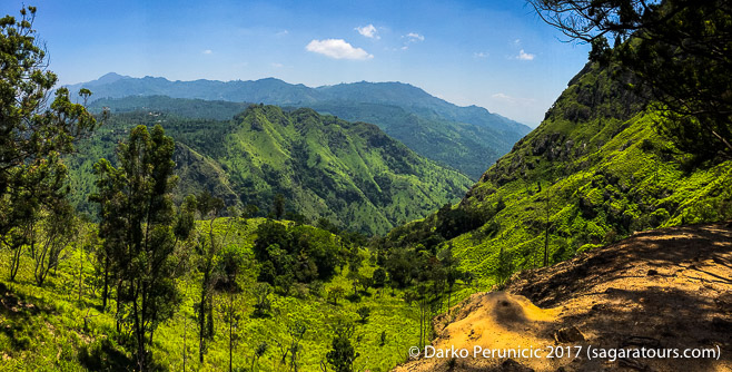 Ella rock, Sri Lanka: Gorgeous lush green hills