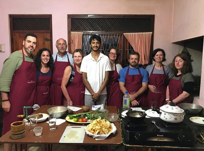 Cooking classes at Ella Spice Garden
