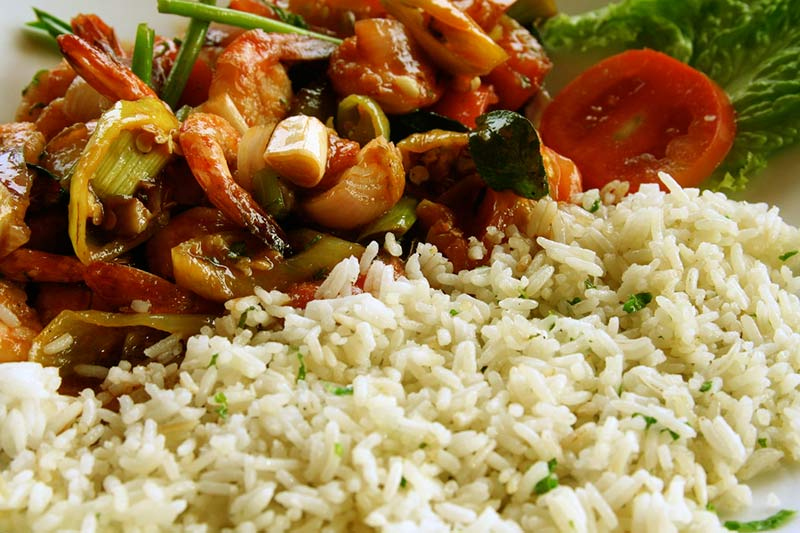 Shri Lanka Rice Curry